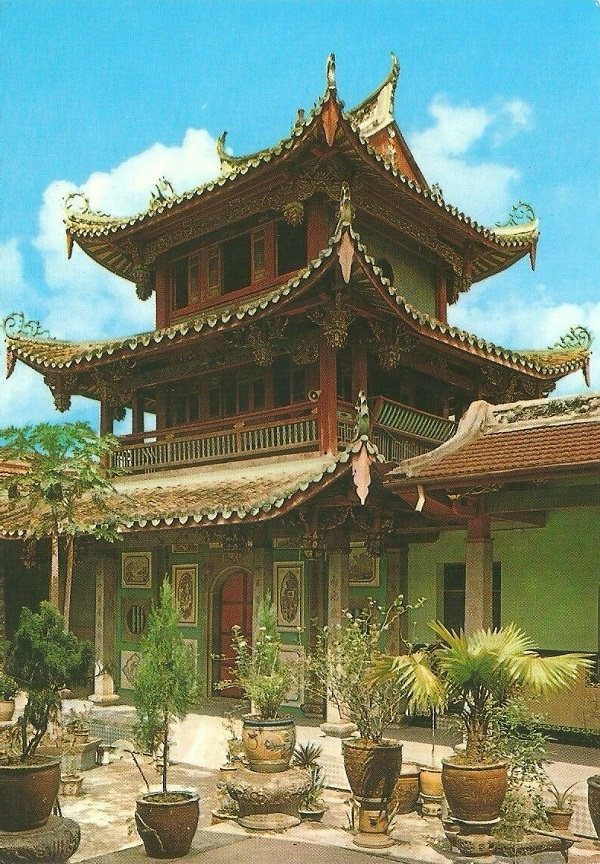 Siong Lim Si Temple Postcard