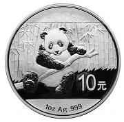 2014 Chinese Panda Silver Coin